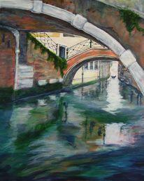 Gewässer, Kanal, Wasser, Italien