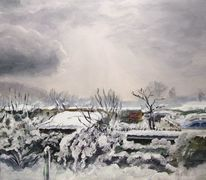 Schnee, Licht, Ausblick, Kälte