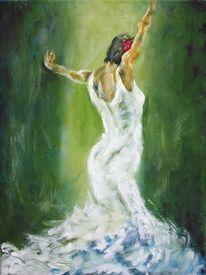 Tanz, Leidenschaft, Frau, Gefühl