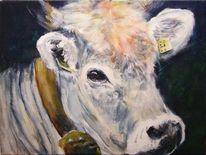 Rind, Kuh, Vieh, Malerei