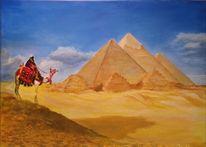 Pyramide, Gizeh, Sand, Wüste