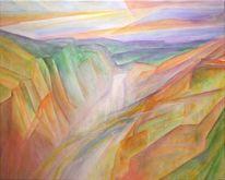 Naturpark, Wasserfall, Yellowstone, Wasser