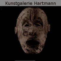 Afrika, Maske, Figur, Kunsthandwerk