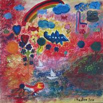 Kinder, Farben, Welt, Formen