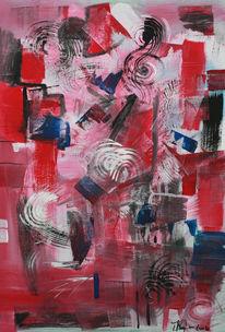 Bunt, Formen, Modern, Abstrakt