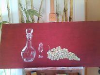 Malerei, In arbeit