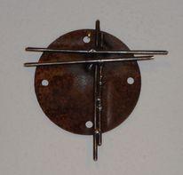 Kreuz metall, Kunsthandwerk, Metall, Kreuz