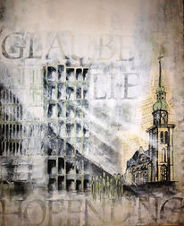Malerei, Abstrakt, Hoffnung, Glaube