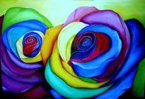 Rose, Blumen, Abstrakt, Natur