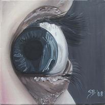 Augen, Ölmalerei, Malerei, Portrait