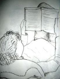 Lesen, Zeichnungen, Lektüre