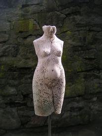 Fragment, Skulptur, Vanitas, Weiblich