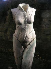 Organisch, Vergänglichkeit, Skulptur, Weiblich