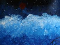 Blau, Eis, Kalt, Malerei