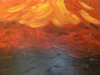 Rot schwarz, Vulkan, Energie, Wild