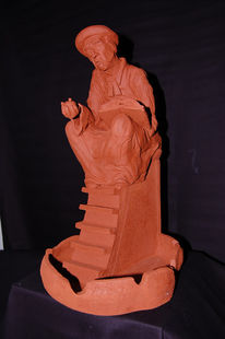 Schwerin, Bibel, Keramikfigur, Körper