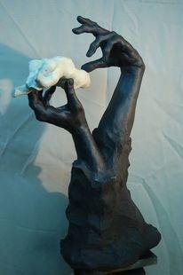 Schöpfung, Hand, Kreation, Frau