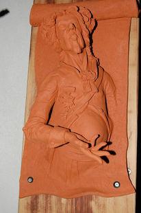 Skulptur, Körper, Tür, Adel