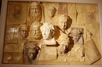 Kreation, Schriftsteller, Skulptur, Zettel