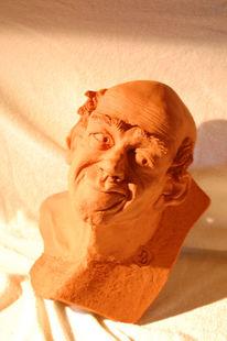Wand, Skulptur, Körper, Ton