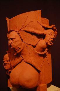 Keramik, Gesicht, Skulptur, Plastiken