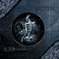Alien, Textkunst, Jesus, Digitale kunst