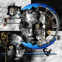 Uhr, Börse, Tod, Zeit