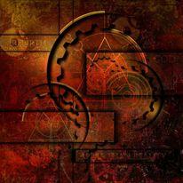 Symbol, Zeit, Ewigkeit, Uhr