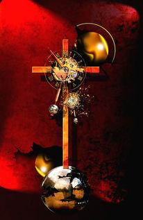 Erlösung, Leid, Religion, Uhr