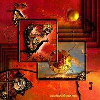 Qual, Ewigkeit, Sonnenaufgang, Technik