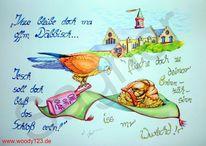 Männlich, Sachsen, Vogel, Natur