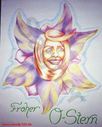 Blumen, Stern, Bunt, Ostern