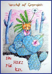 Genetik, Kaktus, Metamorphose, Schlüssel