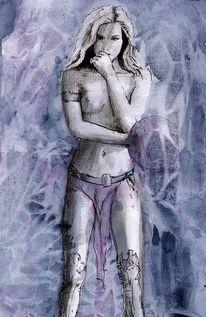 Fantasy bilder, Fantasy art, Indyfank, Aquarell