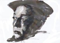 Buster keaton, Zeichnungen