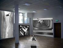 Digitale kunst, Ausstellung