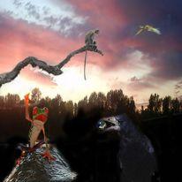 Digitale kunst, Surreal, Welt