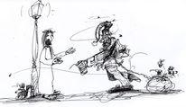 Zeichnungen, Weihnachtsmann