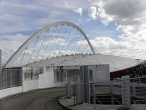 Fotografie, Architektur, Dach, Arena