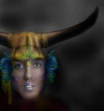 Fantasy art, Skythen, Indyfank, Prinzessin
