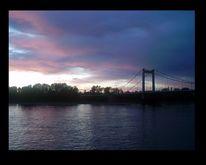 Fotografie, Rhein, Köln, Sonnenuntergang