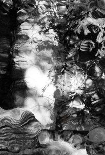 Fotografie, Abstrakt, Surreal, Schwarz weiß