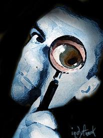 Trollwatcher, Digitale kunst, Schwarze serie