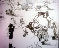 Comic, Karikatur, Humor, Zeichnung