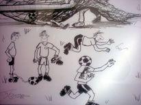 Comic, Karikatur, Homor, Zeichnung