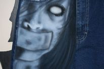 Airbrush, Jeans