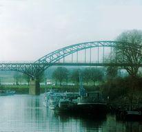 Duisburg, Ruhrort, Wasser, Analog