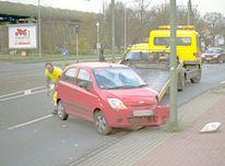 Auto, Verkehr, Unfall, Pech