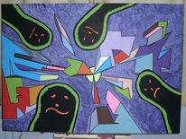 3d, Acrylmalerei, Molotow, Alien