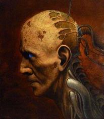 Mythos, Dunkel, Jenseits, Malerei